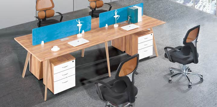 Spark Wood Desking Office Workstation 15