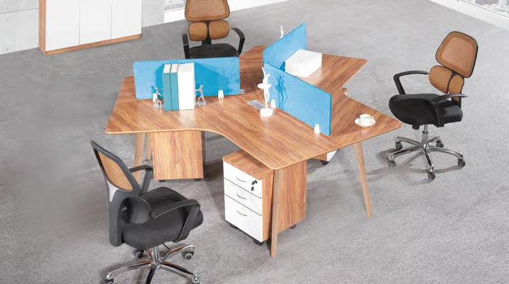 Spark Wood Desking Office Workstation 16