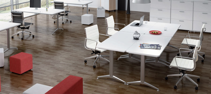 training furniture-foldable tables