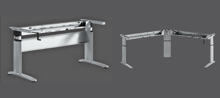 height adjustable tables-manual