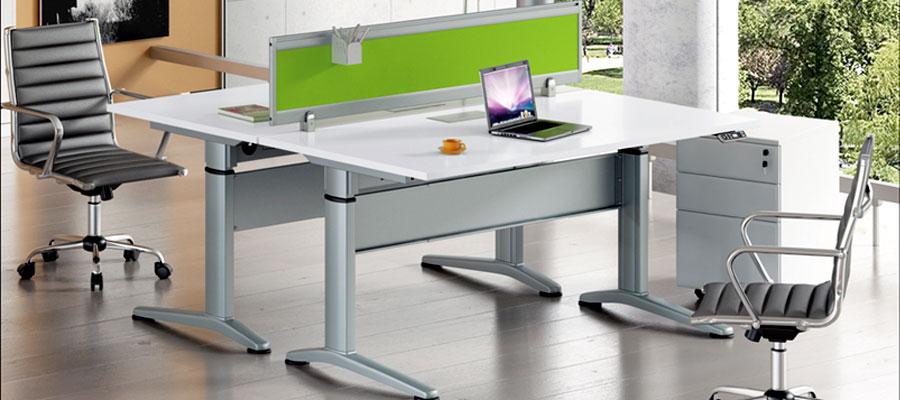 height adjustable tables-motorised