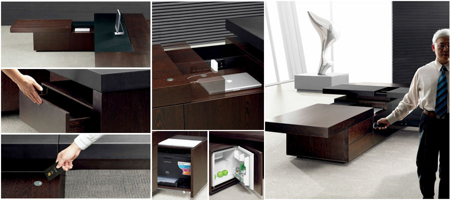 executive venner tables-leading