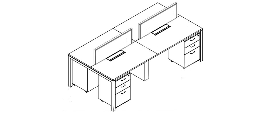 desking work station-sl50 system