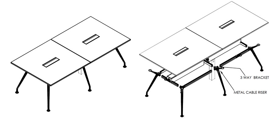 meeting laminate tables-neptune system