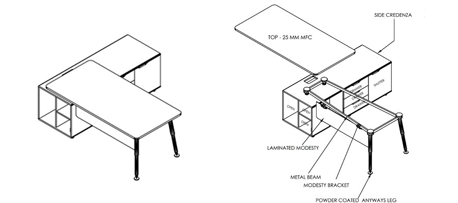 executive laminate tables-anyways